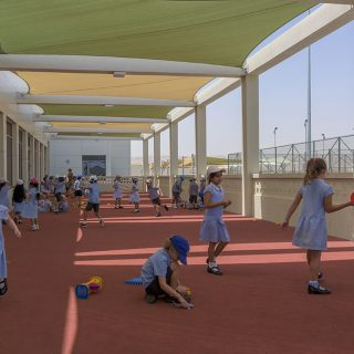 Covered Primary play area